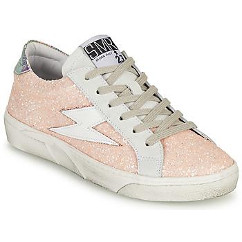 Sapatos Mulher Sapatilhas Semerdjian CATMI Rosa