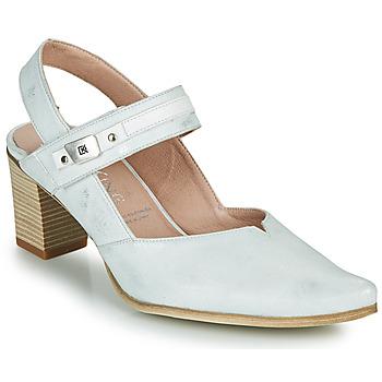 Sapatos Mulher Escarpim Dorking LEA Prata
