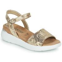 Sapatos Mulher Sandálias Dorking ROCK Ouro