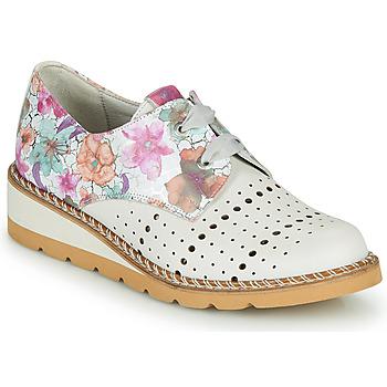 Sapatos Mulher Sapatos Dorking TETRIS Branco / Multicolor