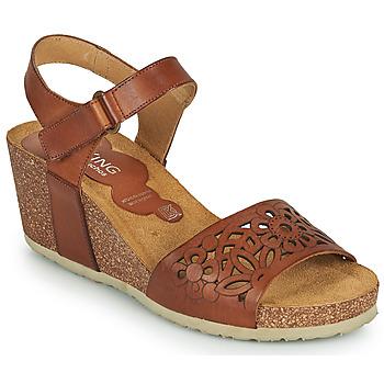 Sapatos Mulher Sandálias Dorking PALMA Castanho