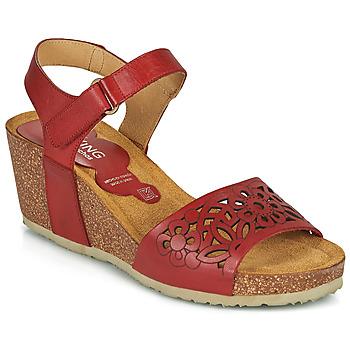 Sapatos Mulher Sandálias Dorking PALMA Vermelho