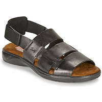 Sapatos Homem Sandálias Fluchos 1200-SURF-NEGRO Preto