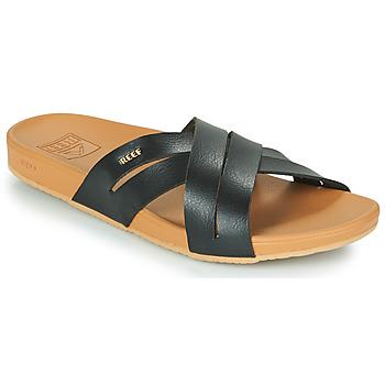 Sapatos Mulher chinelos Reef CUSHION SPRING BLOOM Preto