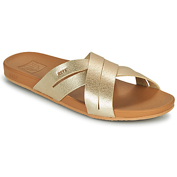 Sapatos Mulher chinelos Reef CUSHION SPRING BLOOM Ouro