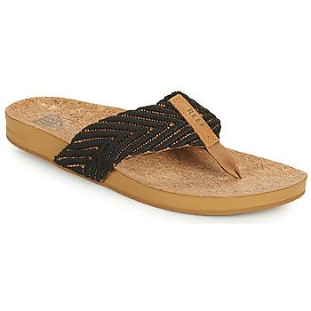 Sapatos Mulher Chinelos Reef REEF CUSHION STRAND Preto