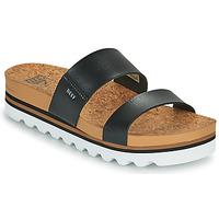Sapatos Mulher chinelos Reef CUSHION VISTA HI Preto