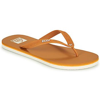 Sapatos Homem Chinelos Reef REEF SEASIDE Mostarda