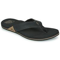 Sapatos Homem Chinelos Reef REEF NEWPORT Preto