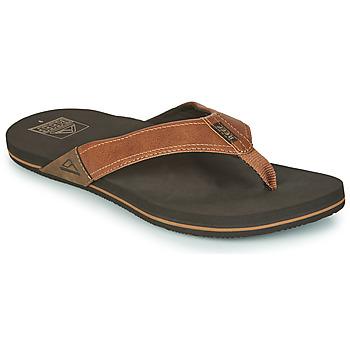 Sapatos Homem Chinelos Reef REEF NEWPORT Castanho