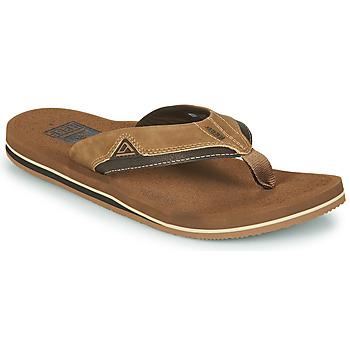 Sapatos Homem Chinelos Reef CUSHION DAWN Castanho