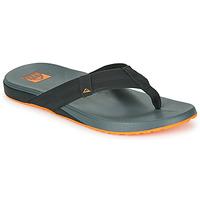 Sapatos Homem Chinelos Reef CUSHION PHANTOM Preto / Laranja