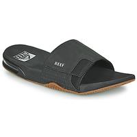 Sapatos Homem chinelos Reef FANNING SLIDE Preto
