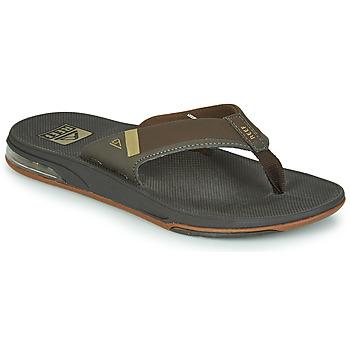Sapatos Homem Chinelos Reef FANNING LOW Castanho
