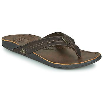 Sapatos Homem Chinelos Reef REEF J-BAY III Castanho