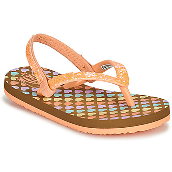 Sapatos Rapariga Chinelos Reef LITTLE STARGAZER PRINTS Rosa