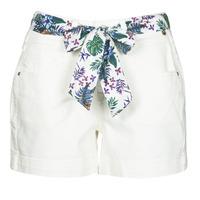 Textil Mulher Shorts / Bermudas Freeman T.Porter GINGER MUZEY Snow / Branco