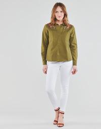 Textil Mulher Calças Freeman T.Porter ALEXA CROPPED S-SDM Branco