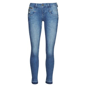 Textil Mulher Calças de ganga slim Freeman T.Porter ALEXA CROPPED S-SDM Azul