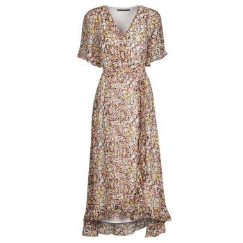 Textil Mulher Vestidos curtos Freeman T.Porter ROLINE GARDEN Multicolor