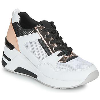 Sapatos Mulher Sapatilhas Tom Tailor JISEL Prata