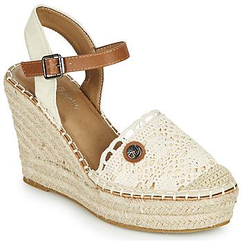 Sapatos Mulher Sandálias Tom Tailor DEB Creme