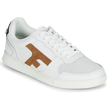 Sapatos Homem Sapatilhas Faguo HAZEL LEATHER Branco / Castanho