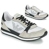 Sapatos Homem Sapatilhas Emporio Armani EMPAGNO Branco
