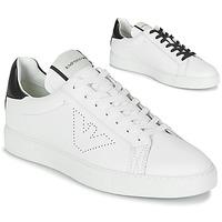Sapatos Homem Sapatilhas Emporio Armani BELGA Branco