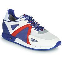 Sapatos Homem Sapatilhas Emporio Armani EA7 SAPONI Branco / Azul / Vermelho