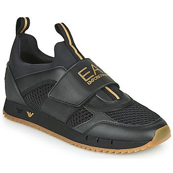 Sapatos Homem Sapatilhas Emporio Armani EA7 CALMONI Preto