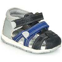 Sapatos Rapaz Sandálias Chicco GABRIEL Azul / Cinza