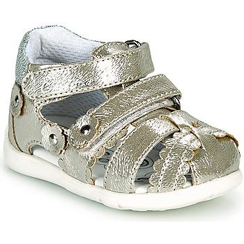 Sapatos Rapariga Sandálias Chicco GORY Ouro