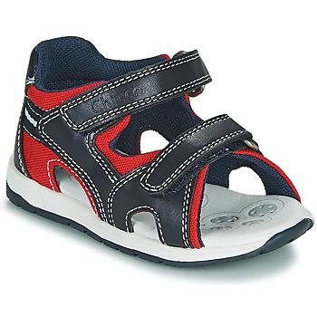 Sapatos Rapaz Sandálias Chicco GEREMIA Azul