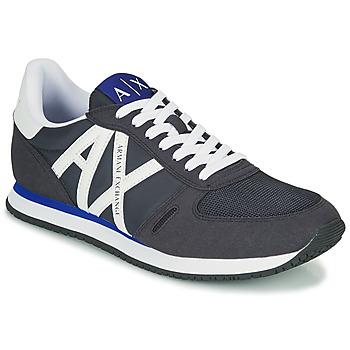 Sapatos Homem Sapatilhas Armani Exchange ESPACIA Azul / Marinho