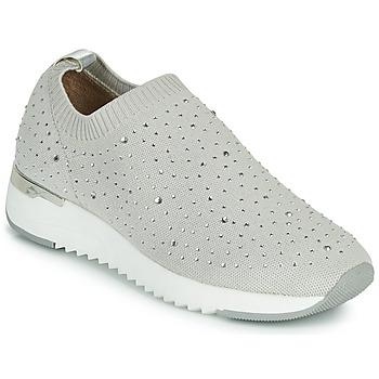 Sapatos Mulher Sapatilhas Caprice 24700 Cinza