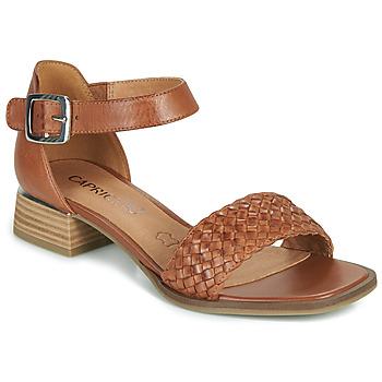 Sapatos Mulher Sandálias Caprice 28208-303 Conhaque
