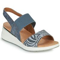 Sapatos Mulher Sandálias Caprice 28306-849 Cinza