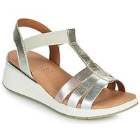Sapatos Mulher Sandálias Caprice 28308-970 Prata