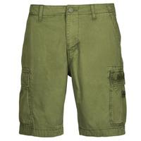 Textil Homem Shorts / Bermudas Napapijri NOSTRAN Verde