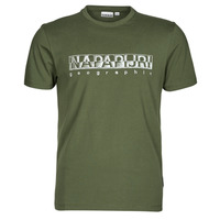 Textil Homem T-Shirt mangas curtas Napapijri SALLAR SS Verde