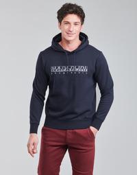 Textil Homem Sweats Napapijri BALLAR Marinho