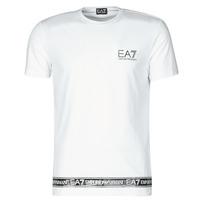 Textil Homem T-Shirt mangas curtas Emporio Armani EA7 3KPT05-PJ03Z-1100 Branco