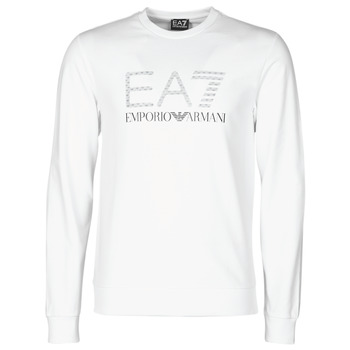 Textil Homem Sweats Emporio Armani EA7 3KPMD7-PJ2SZ-1100 Branco