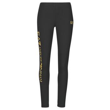 Textil Mulher Collants Emporio Armani EA7 8NTP63-TJ01Z-0200 Preto / Ouro
