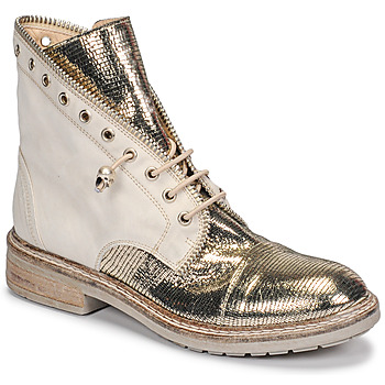 Sapatos Mulher Botas baixas Fru.it 6846-480-PLATINO Ouro