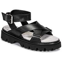 Sapatos Mulher Sandálias Fru.it 6757-100-NERO Preto