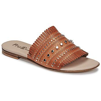 Sapatos Mulher Chinelos Fru.it 6765-100-CUOIO Castanho