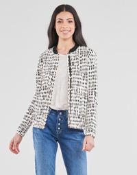 Textil Mulher Casacos/Blazers One Step MADANY Cru / Preto