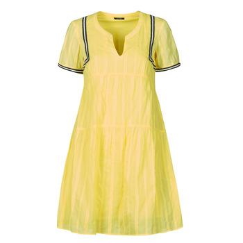 Textil Mulher Vestidos curtos One Step ROYA Amarelo